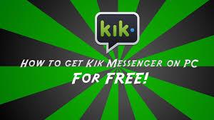 kik messenger apk installer kik apk on your home personal computer