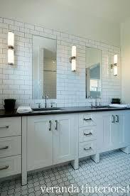 Delighful Bathroom Subway Tile Backsplash  Glass Ideas Only On - Bathroom subway tile backsplash