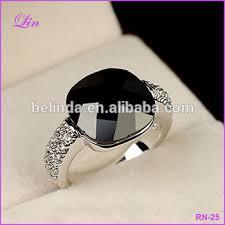 black stone rings images Black stone women rose gold wedding rings buy ring product on jpg