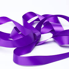 purple satin ribbon cadbury purple satin ribbon