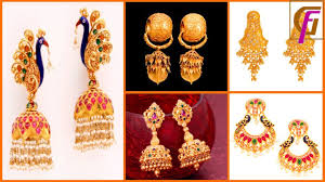 earrings models designer gold earrings 2018 fashionable dangle earrings