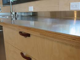 Kitchen Cabinet Plywood Stainless Steel Laminated To Baltic Birch Woodweb U0027s Laminating
