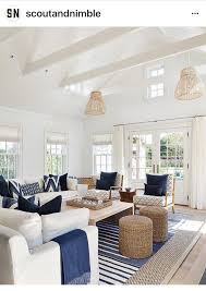 light and bright coastal interior with a relaxed feel coastal