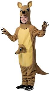 Childrens Animal Halloween Costumes by Child Kangaroo Costume Funny Mascot Australian Outback Animal