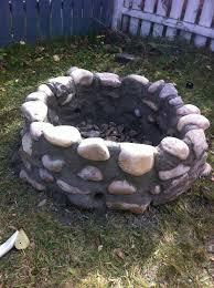 Firepit Rock Pit River Rocks Design And Ideas