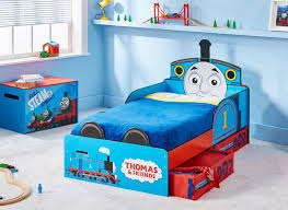 Toddler Train Bed Set by Here Is Mj In His Thomas The Train Bed That I Mentioned In The