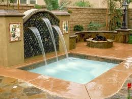 Swimming Pool Spas HGTV - Backyard spa designs