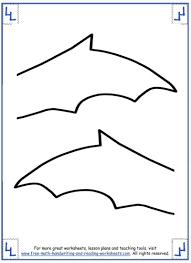 batwing pattern printables u2013 fun for halloween