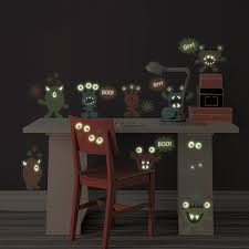 Glow In The Dark Table by Glow In The Dark Monsters Peel And Stick Wall Art