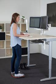 Used Sit Stand Desk by Active Stand Combi Standing Board Feel Instant Relief As You Stand