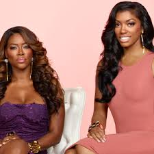 what type of hair does porsha stewart wear kenya moore calls out porsha stewart for flaunting at charity