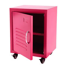 Metal Locker Nightstand Captivating Metal Locker Nightstand Industrial Metal Locker End