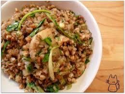cuisiner sarrasin la tête dans le chaudron salade de sarrasin aux chignons et à l