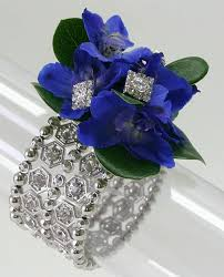 royal blue corsage royal blue corsage on the bracelet this new wow