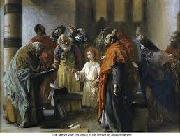 Blind Man At Bethsaida Jesus In The Synagogue