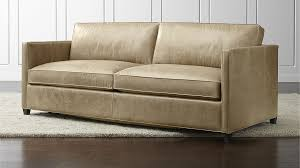 Endearing Leather Sleeper Sofa Customize And Personalize Ryan - Full leather sofas