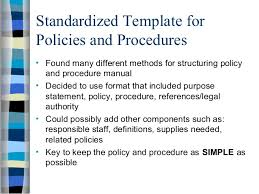 policy presentation