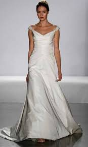 boston wedding dress priscilla of boston 4111 silk razmir tip 399 size 8 used