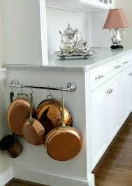 Organizing Pots And Pans In Kitchen Cabinets Pots And Pans Rack Hanging Racks Kitchen Pot Pan Hooks Diy Kitchen