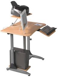 Desk Computer Stand Stand Up Computer Stands Ergonomic Computer Desk With Pneumatic