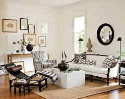 Decor Pad Living Room by Black And White Striped Rug Eclectic Living Room Megan Winters