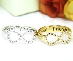 engraved jewelry best friends ring women s infinity ring engraved ring jewelry gold