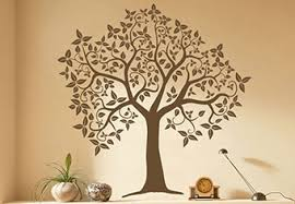 tree wall decals home decor shop decorative floral decal and