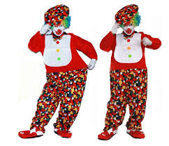 clown jumpsuit stock sale jumpsuit clown peformance clothes colour