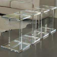 Acrylic Side Table Ikea Coffee Tables Acrylic Coffee Table Lucite End Tables Target Side