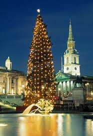 when is the trafalgar square tree lighting ceremony