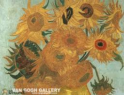 van gogh sunflower wallpaper