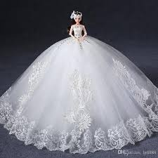 wedding dresses packing big upscale doll with wedding dress doll gifts
