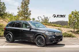 bmw black bmw x5 vfs 2 custom black vossen wheels 2015 1002