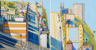 Wayne Thiebaud Landscapes by Fashion Impact Wayne Thiebaud Master Of Color