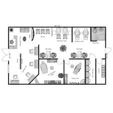 Hair Salon Floor Plan Salon And Spa Layout Services Cad Drawings Configuration