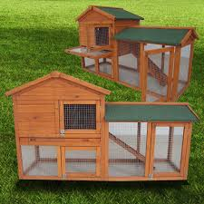 Homemade Rabbit Cage Outdoor Large 2 Tier Rabbit Hutches For Awesome Outdoor Pet House