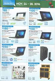 black friday 2016 costco ad scan