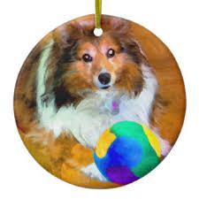shetland sheepdog sheltie ornaments keepsake ornaments zazzle