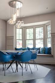 3 modern interiors with multi pendant canopies