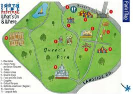 Map Of Queens Queens Park Glasgow Mappa Jpg