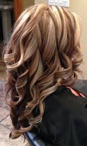 layred hairstyles eith high low lifhts contrasting chunky highlights and lowlights pinteres
