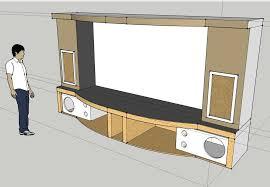 Home Theater Stage Design Pueblosinfronterasus - Home theater stage design