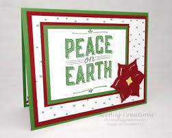 quick and easy handmade christmas cards with the carols of