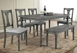 modern kitchen table sets rustic dining room chairs grey rustic dining table room sets home