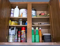 Kitchen Cabinets In Garage Organizing Garage Cabinets Organize 365