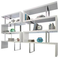 Modern Bookcases Modloft Pearl Bookcase Md105 Modern Bookcases By Beyond Stores