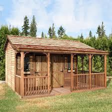 farmhouse cedar shed fh1612 16 ft x 12 ft farmhouse shed lowe u0027s canada