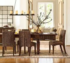 rustic pottery barn kitchen table tables u0026 chairs pottery barn