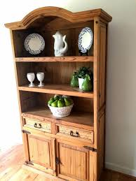 Kitchen Hutch Furniture Recycled Pine Wood Kitchen Hutch Diy Crafts