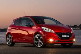 peugeot cars peugeot cars news 208gti pricing and specifications